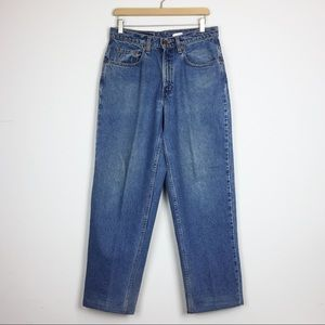 Vintage Levi's 535 high waisted mom jeans straight